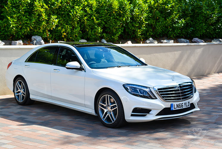 Mercedes S Class New Wedding Cars For Hire