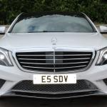 Mercedes S class front grill