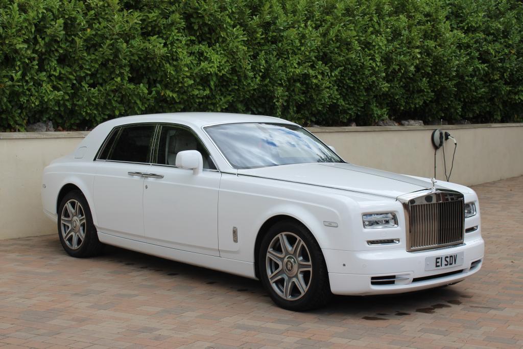 Rolls Royce Phantom series 2 hire
