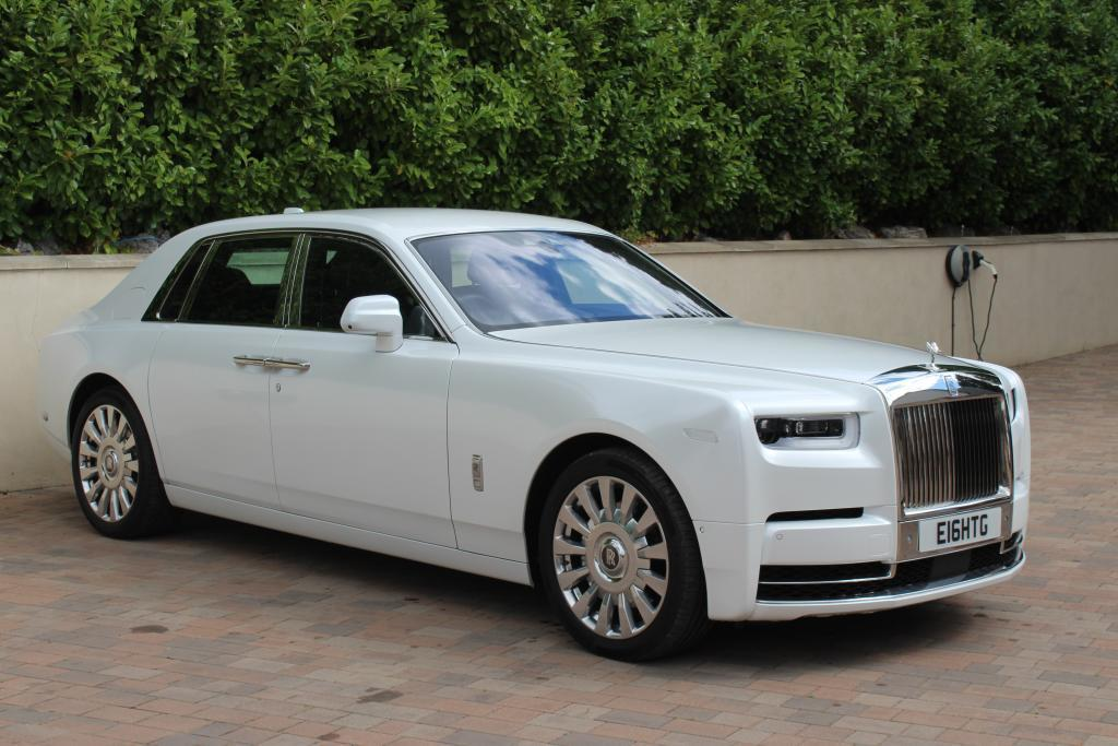 Rolls Royce Phantom 8 hire London