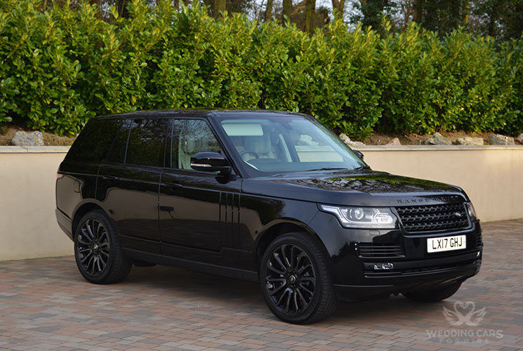 Range Rover Black 2017 hire