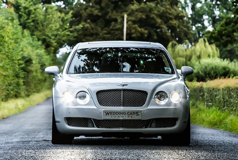 Bentley Flying Spur front view