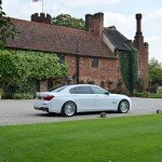White Bmw 7 series hire