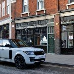 range-rover for hire london