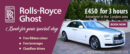Rolls-Royce Ghost hire offer