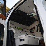 Rolls Royce Phantom interior skylights
