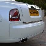 Rolls Royce Phantom exhaust tips