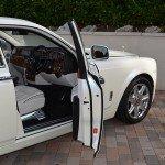 Rolls Royce Phantom drivers seat
