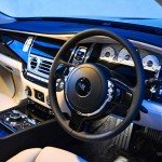 Rolls Royce Ghost steering wheel