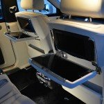 Rolls Royce Ghost II rear tables