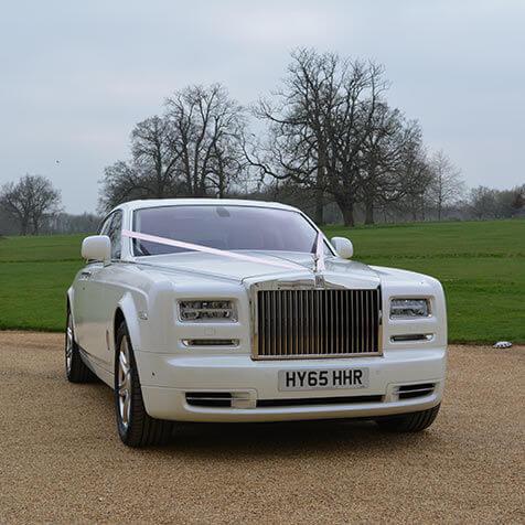 Rolls Royce Phantom ivory ribbon
