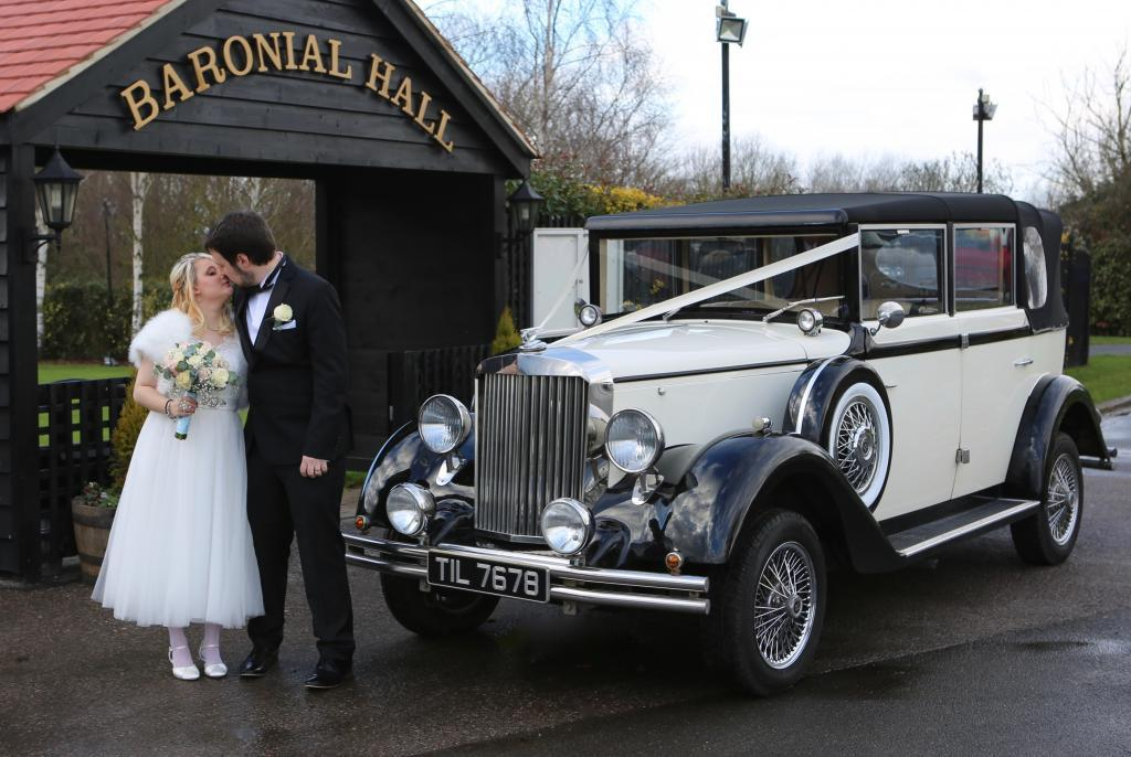Vintage wedding car Regent