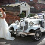 Vintage wedding car Beauford