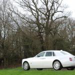 Rolls Royce Phantom 8 rear side view