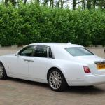 White Rolls Royce Phantom 8