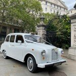White London taxi hire