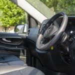 Mercedes Viano front interior