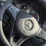Mercedes Viano steering wheel