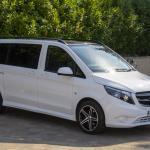White Mercedes Viano