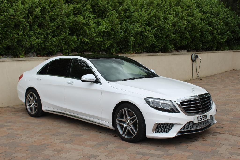Mercedes S class side views