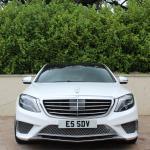 Mercedes S class front