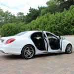 Mercedes S class side