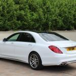 Mercedes S class side view