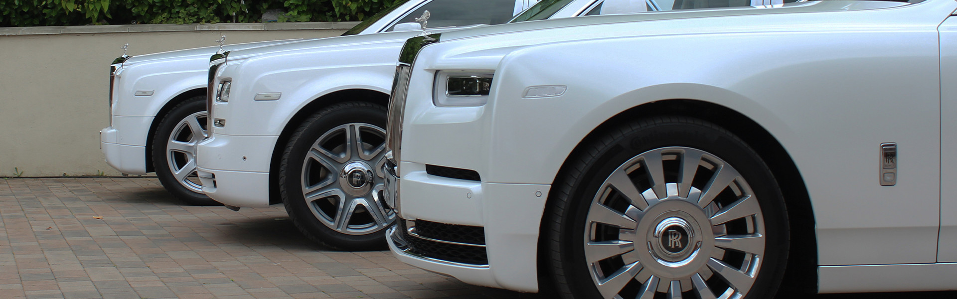 Rolls Royce Phantom fleet