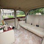 White Fairway London taxi interior