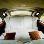 Rolls Royce Silver Cloud rear seats