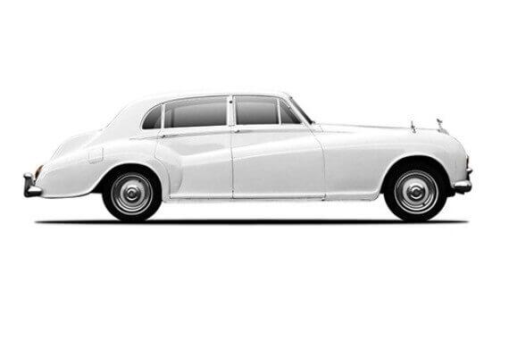 Rolls Royce Silver cloud side view