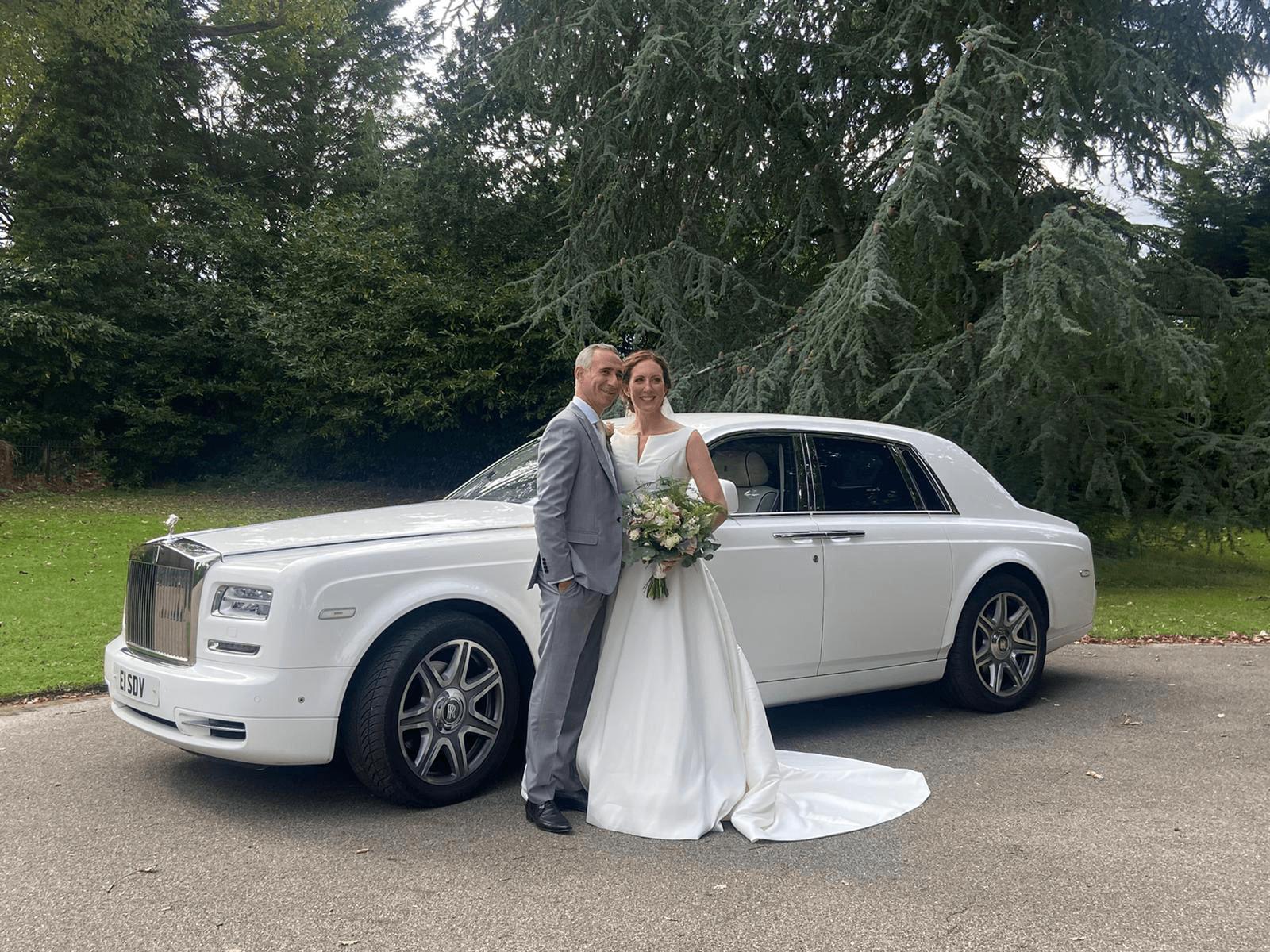 wedding car hire chelmsford