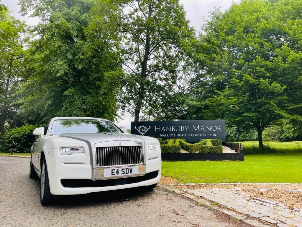 wedding car hire hertfordshire